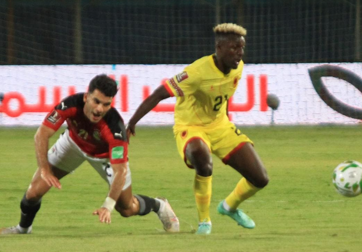 مباراة مصر وأنجولا