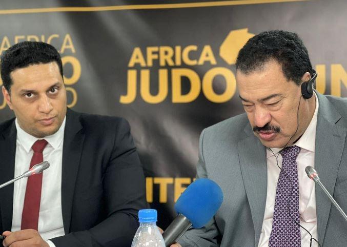افتتاح البطولة العربية للجودو باستاد القاهرة