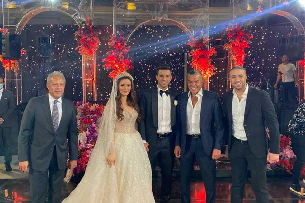 حفل زفافا حمدي فتحي