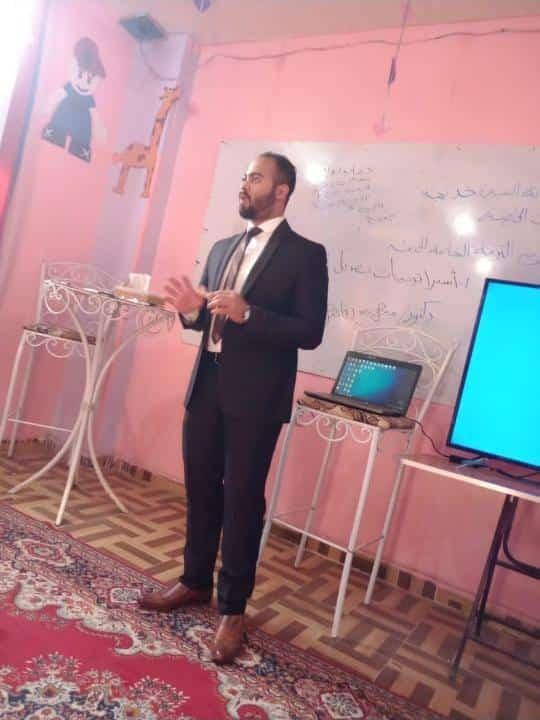الدكتور محمد رفاعي رئيس مركز تقوي الله لذوي الإعاقة بالتل الكبير بالإسماعيلية