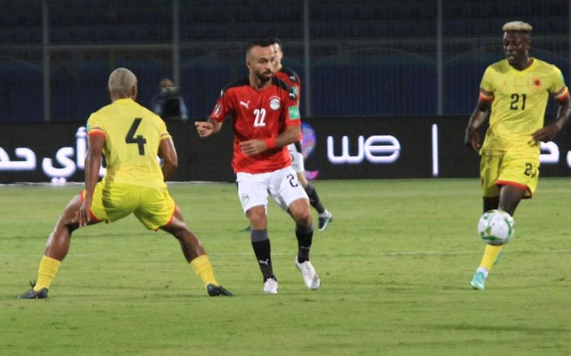 مباراة مصر وانجولا