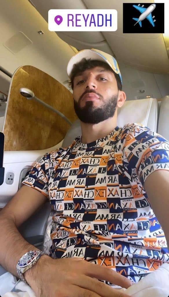 مشاربيوف لاعب النصر السعودي