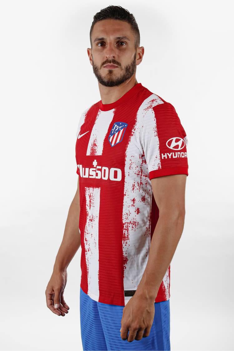 القميص الإساسي لنادي أتلتيكو مدريد