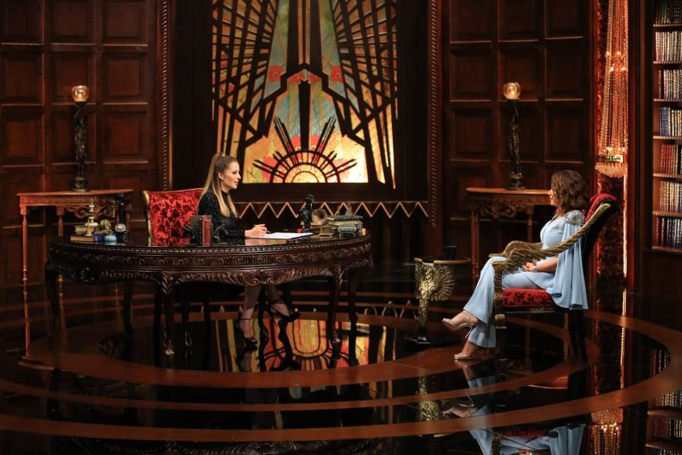 هند صبري مع وفاء الكيلاني