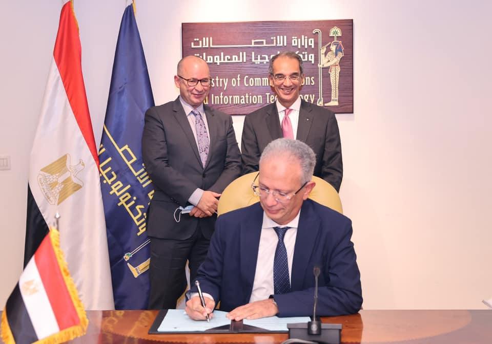 الدكتور عمرو طلعت وزير الاتصالات وتكنولوجيا المعلومات