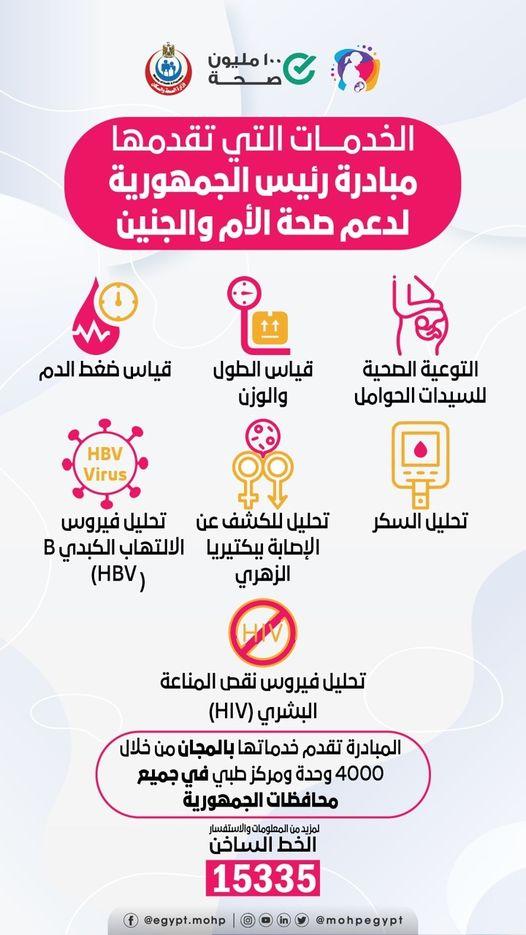 مبادرة رئيس الجمهورية لدعم صحة الام والجنين