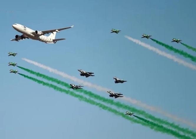 احتفالات الرياض بـ اليوم الوطني للمملكة العربية السعودية