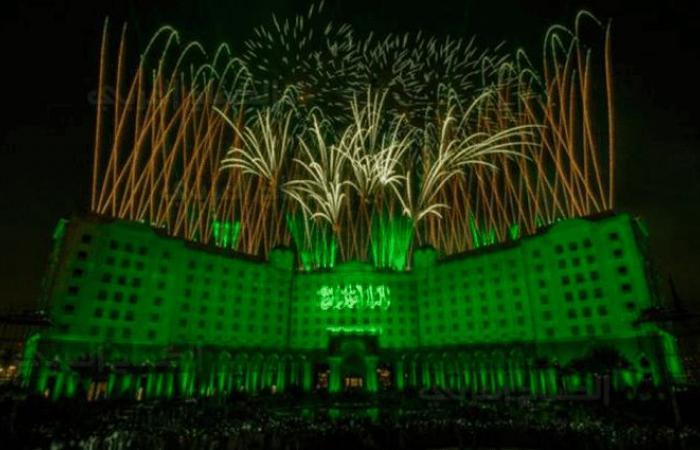 احتفالات الدمام باليوم الوطني للمملكة العربية السعودية