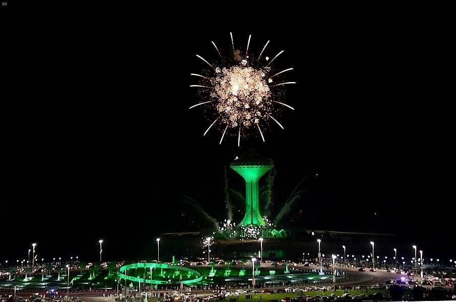 احتفالات الخُبر باليوم الوطني للمملكة العربية السعودية