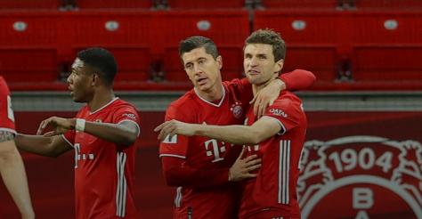 بايرن ميونخ يحسم لقب الدوري اللماني