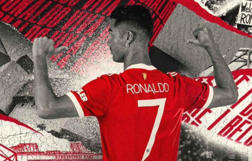 كريستيانو رونالدو يرتدي القميص رقم 7
