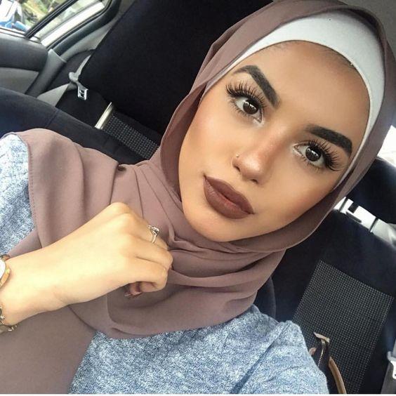 موسوعه طرق لف الطرح والحجاب للمناسبات والأفراح 2020 للمحجبات 5710b4ccfa8a61303a22