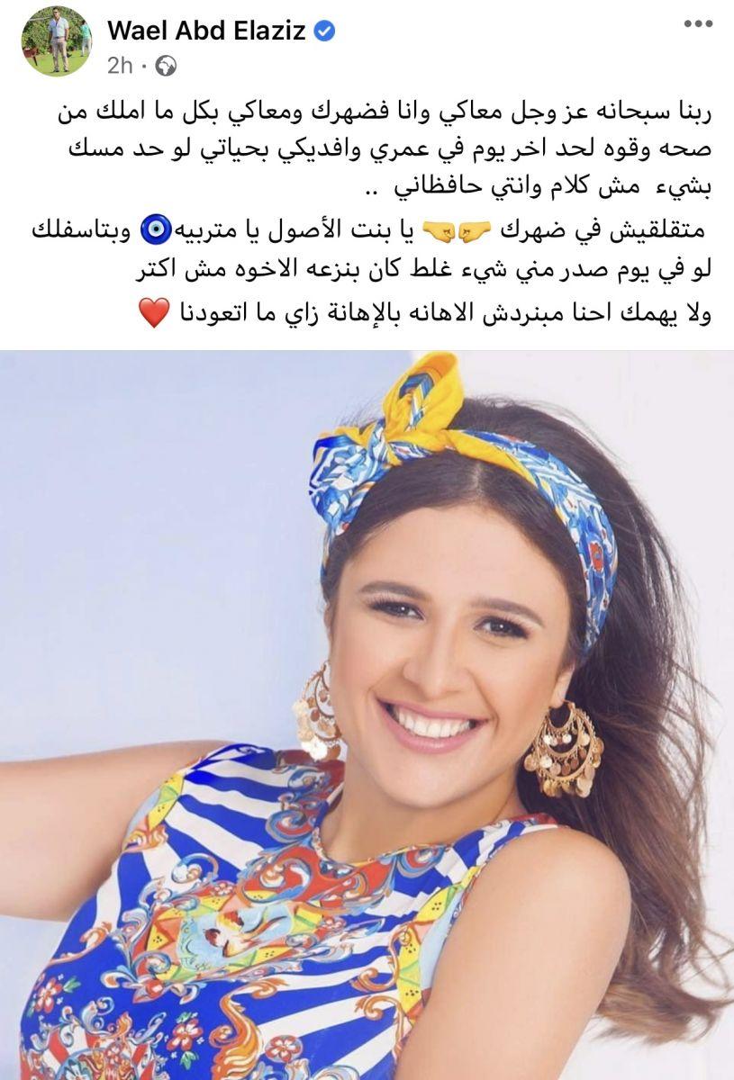 وائل شقيق ياسمين عبدالعزيز
