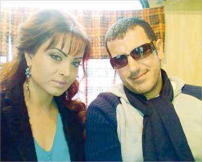 فايق حسن وزوجته الأولى مارتا