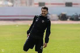 محمود الونش لاعب الزمالك ومنتخب مصر