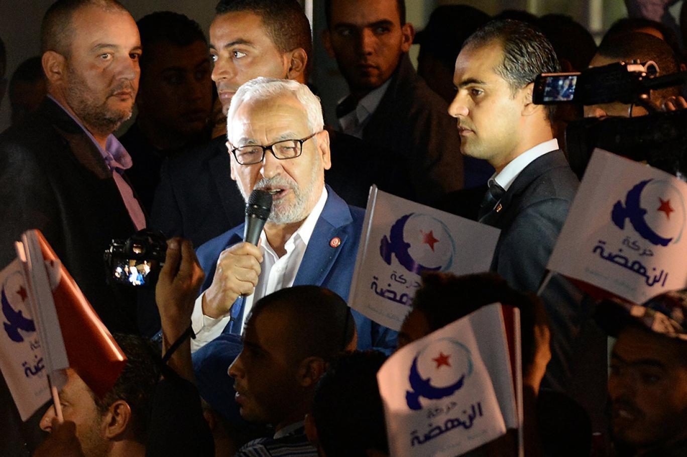راشد الغنوشي رئيس حركة النهضة