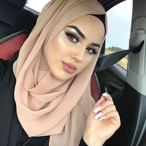 موسوعه طرق لف الطرح والحجاب للمناسبات والأفراح 2020 للمحجبات 8811c260745dc8d82e17