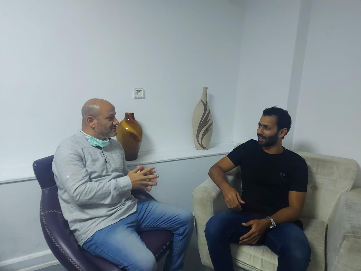 مودي خلال حواره مع جريدة الوفد