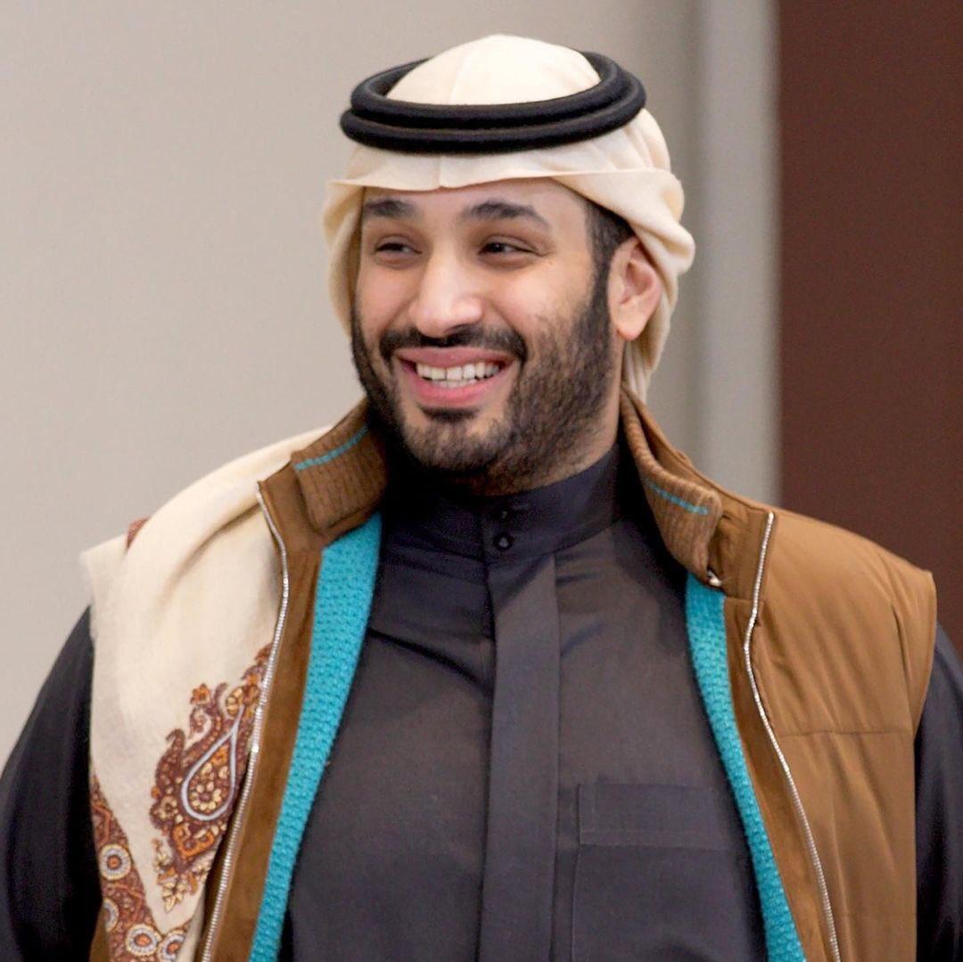جاكيت ولي عهد المملكة العربية السعودية محمد بن سلمان بن عبد العزيز آل سعود