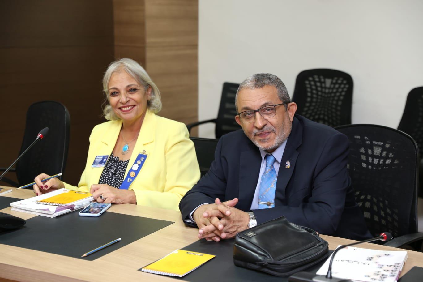 لجنة تمكين المرأة بنوادي روتاري مصر