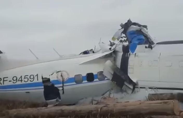 تحطم طائرة في تتارستان الروسية