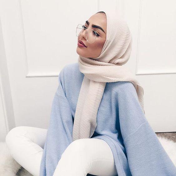 موسوعه طرق لف الطرح والحجاب للمناسبات والأفراح 2020 للمحجبات b2a1003dda3d8db62dd4