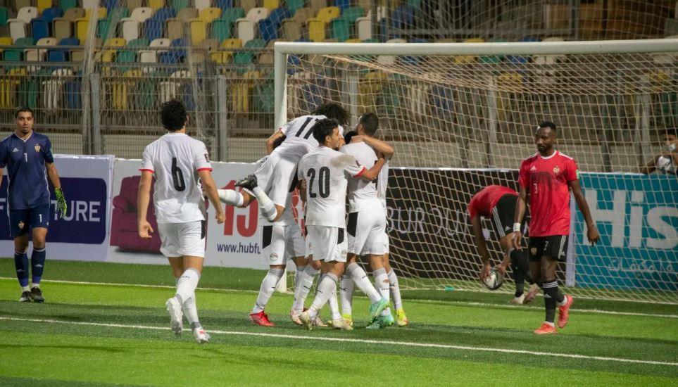 منتخب مصر امام ليبيا