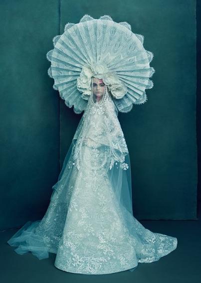 فستان زفاف  من القرن الماضى