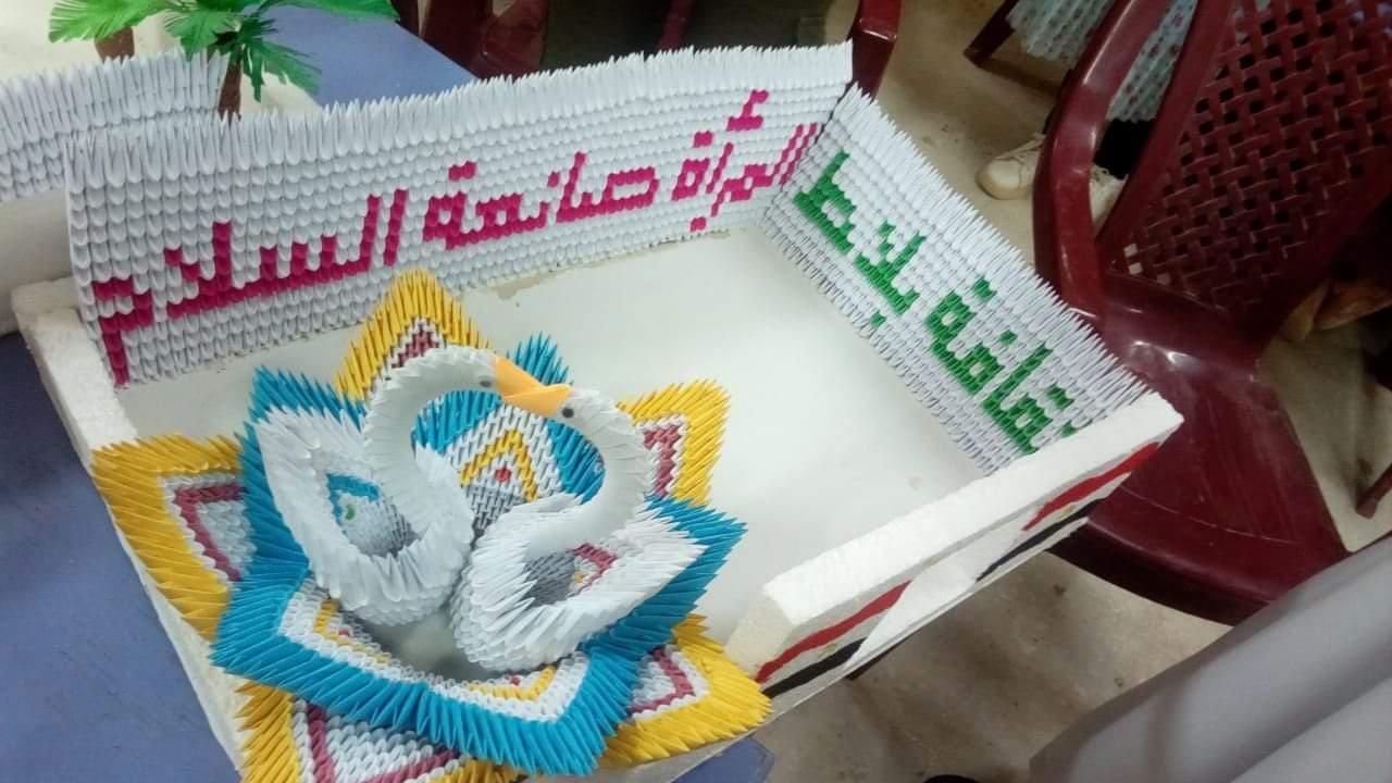 """قومي المرأة بالوادي الجديد يختتم حملة """" المرأة صانعة السلام"""""""