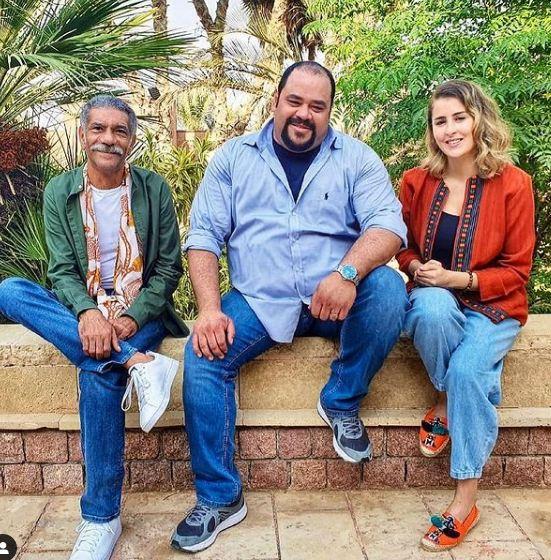 عائشة بن أحمد برفقة سيد رجب ومحمد ممدوح في لعبة نيوتن