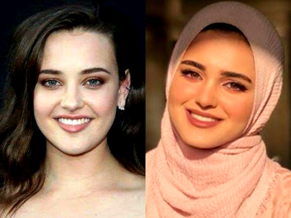 صور.. شبيهة بطلة 13 Reasons Why تشعل السوشيال ميديا