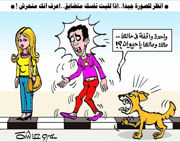 التحرش في كاريكاتير الوفد